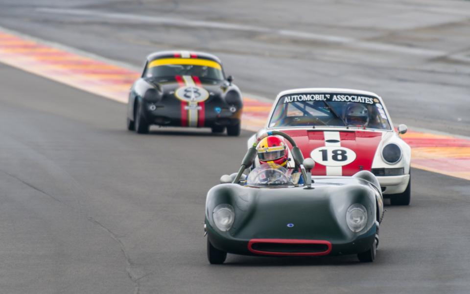 no. 25B – 1957 Tojeiro Sport Racer – Driver: Burt Levy – owner: